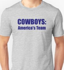 Cowboys: America's Team T-Shirt