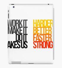 Daft Punk - Harder Better Faster Stronger iPad Case/Skin