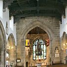 Pano ~ Holy Trinity Church Interior, Skipton by Sandra Cockayne