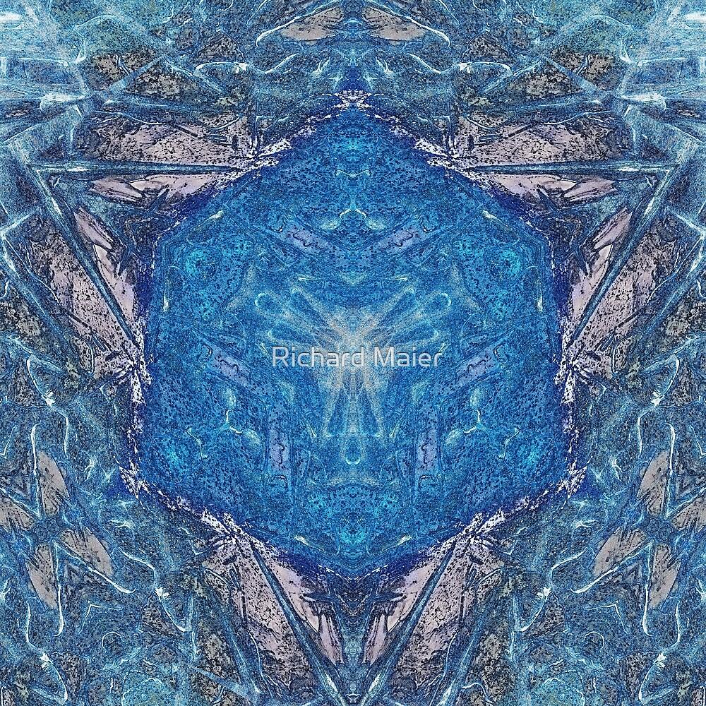 Crystalline Blue 1 by Richard Maier