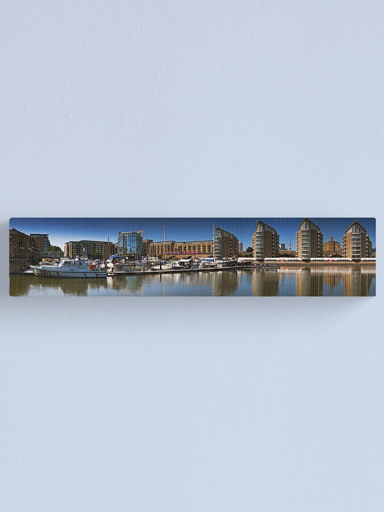 Alternate view of Limehouse Basin Canvas Print