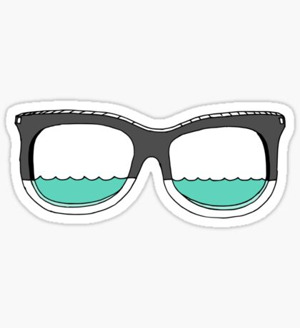 Glasses of Water Sticker