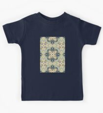 Protea Pattern in Deep Teal, Cream, Sage Green & Yellow Ochre Kids Clothes