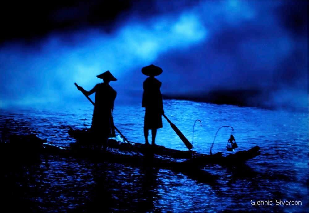Liu Sanjie Blue by Glennis  Siverson