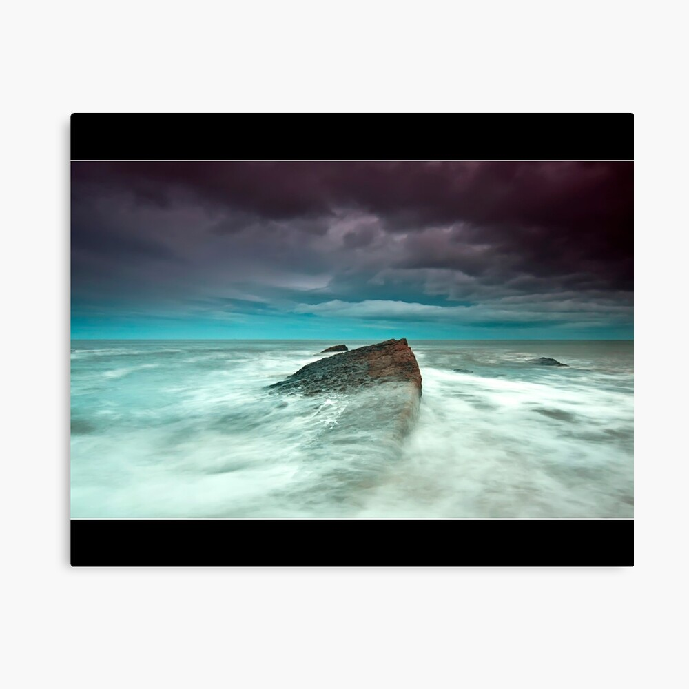 wet feet Canvas Print