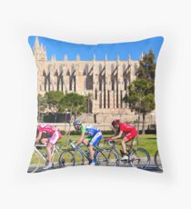 Mallorca Challenge 2011 Cycle Race Throw Pillow
