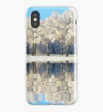 NATURES WINTER MIRROR iPhone Case/Skin