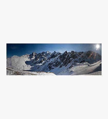 Almost 3.000m Photographic Print