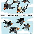 Amur Falcon Migration by rohanchak