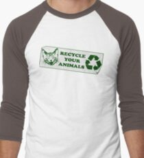 Recycle your Animals - Fight Club Men's Baseball ¾ T-Shirt
