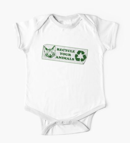 Recycle your Animals - Fight Club Kids Clothes