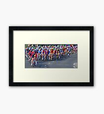 Mallorca Challenge 2011 Cycle Race III Framed Print