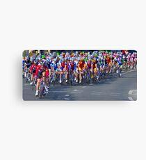 Mallorca Challenge 2011 Cycle Race III Canvas Print