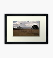 Deeargee Woolshed #1 Framed Print