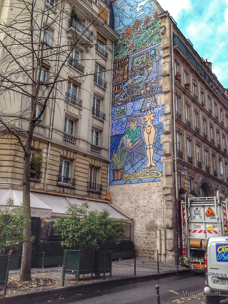 Urban artwork by Murray Swift