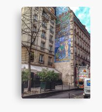 Urban artwork Canvas Print