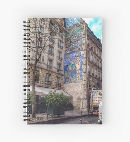 Urban artwork Spiral Notebook