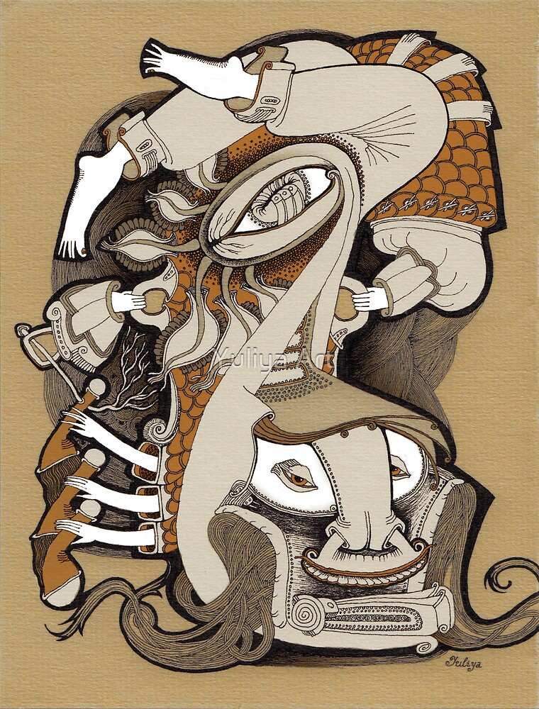Reverse by Yuliya Art
