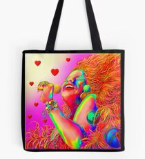 'Sing It Babie' A Tribute to 1960's California Rock Tote Bag