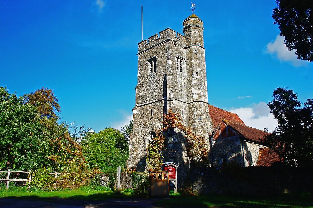 St Martins Church, Ryarsh by Dave Godden
