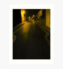 Riboleau Street - coming home Art Print
