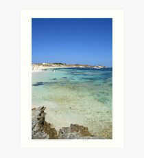 Rottnest Island, Australia Art Print