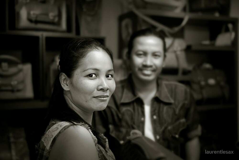 Thai couple by laurentlesax
