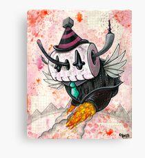 Skully Bot Canvas Print