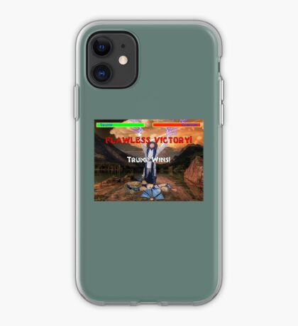 Trump's Flawless Victory iPhone Case