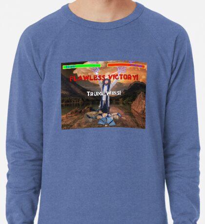 Trump's Flawless Victory Lightweight Sweatshirt