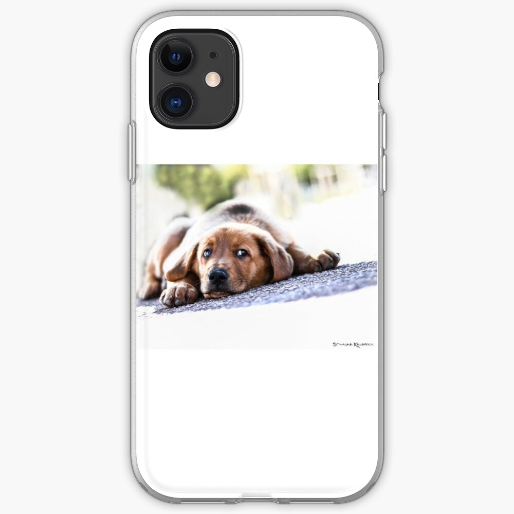 Puppet Dog iPhone Soft Case