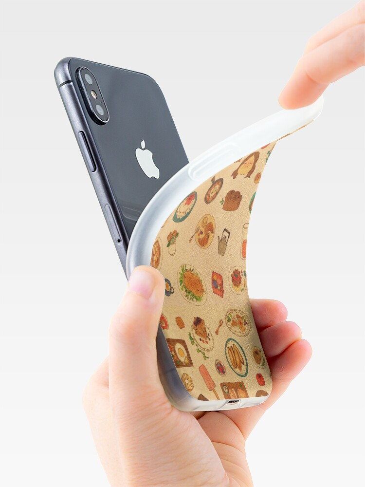 Alternate view of Having meals together iPhone Case & Cover