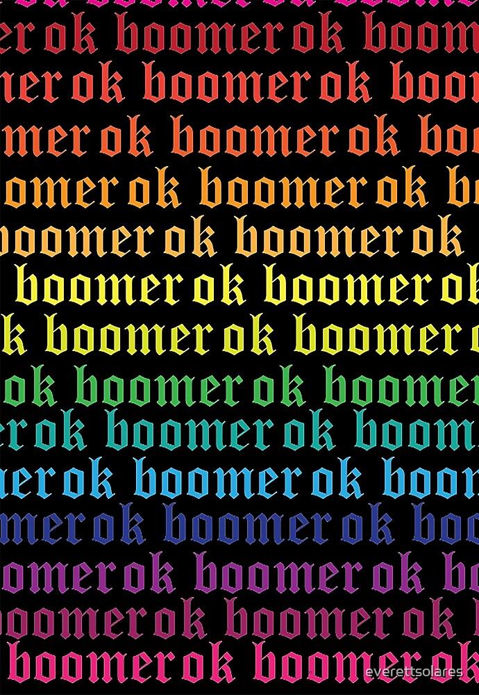 gay ok boomer by everettsolares