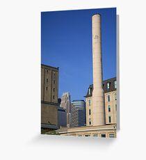 Minneapolis Smokestack Greeting Card