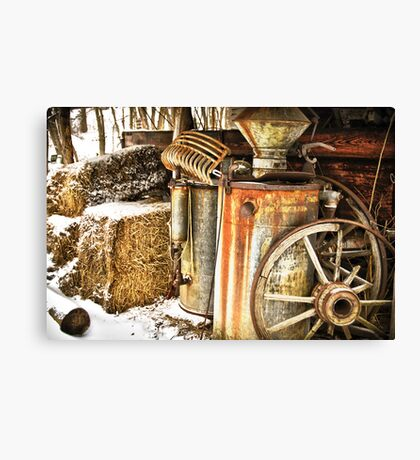 Rusty Relics Canvas Print