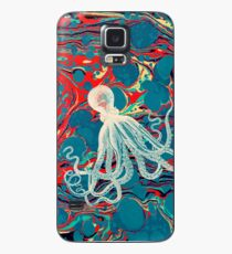 Marbled Paper Octopus Blob by Pepe Psyche Case/Skin for Samsung Galaxy
