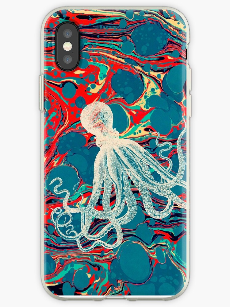Marbled Paper Octopus Blob by Pepe Psyche by Pepe Psyche