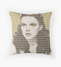 Over the Rainbow Gold Throw Pillow