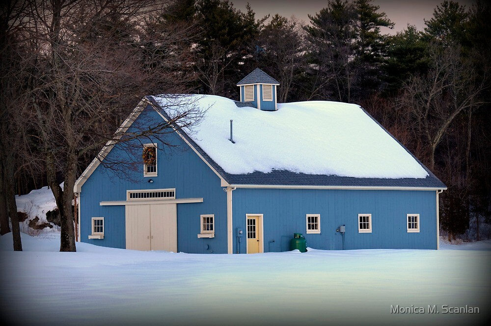 The Blue Barn by Monica M. Scanlan