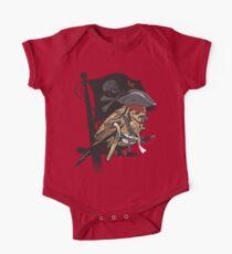 Captain Sparrow Short Sleeve Baby One-Piece