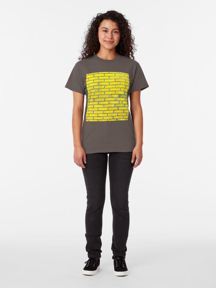 Alternate view of Yellow bricks Classic T-Shirt