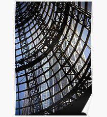 Roof above Shot Tower Melbourne Central Poster