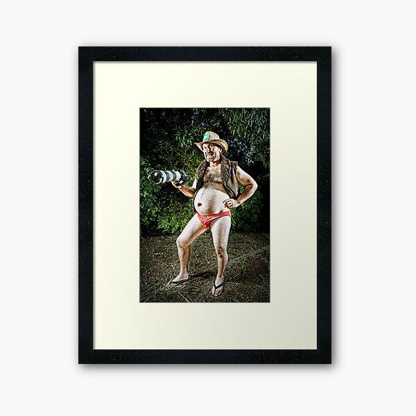 Mr February - The Sporting Shooter!! Framed Art Print