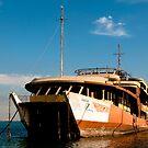 Hakem 17, shipwreck in Mangaf, Kuwait by NicoleBPhotos