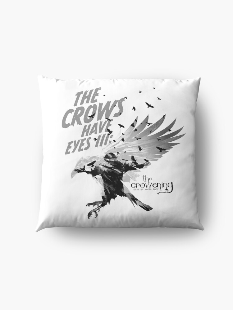 Alternate view of The Crows Have Eyes III:  The Crowening Floor Pillow