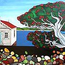 Pohutukawa Dreams by Anni Morris