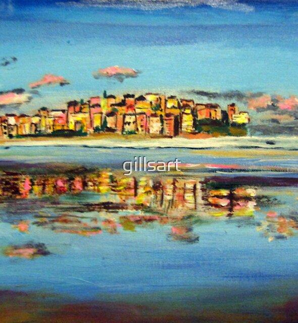 Bondi Reflection by gillsart