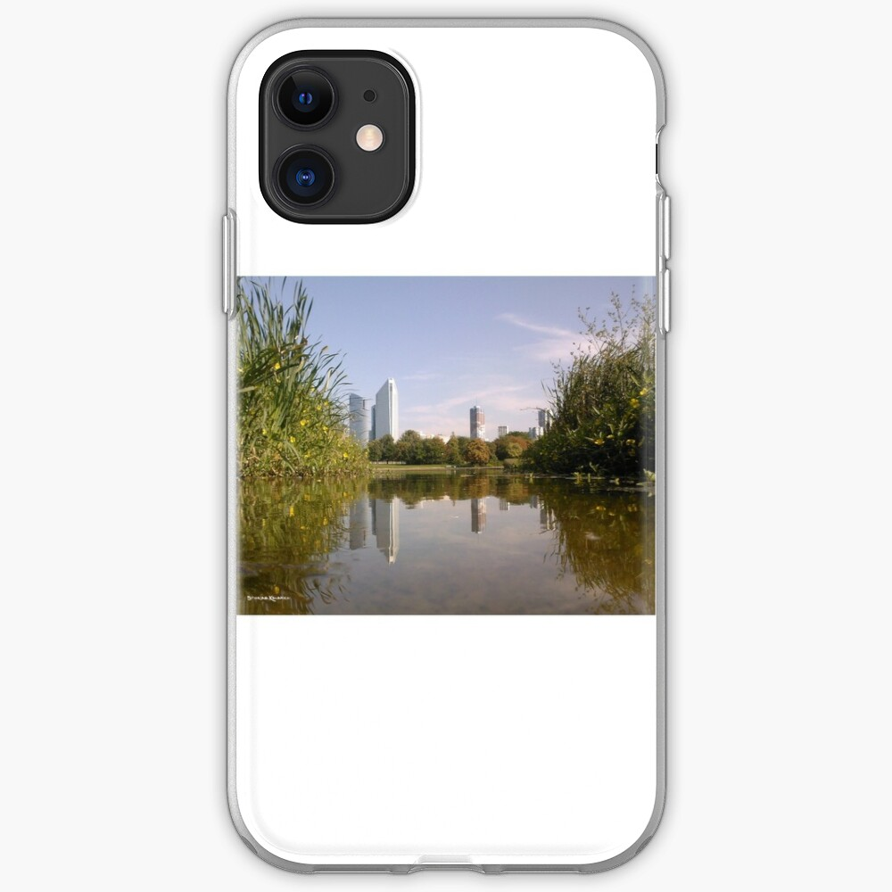 The Nature Big Town iPhone Soft Case