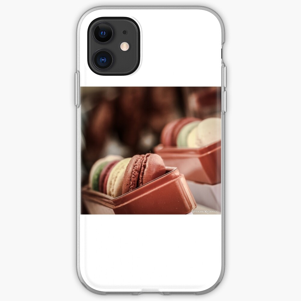 Macaroons iPhone Soft Case