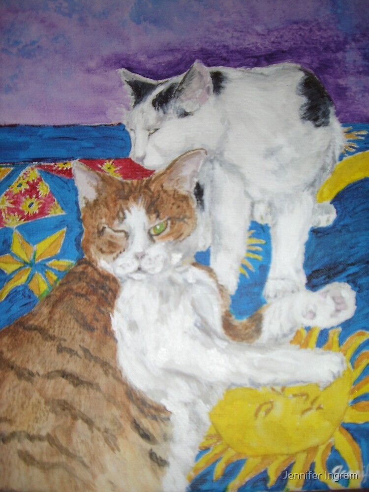 Loving Cats by Jennifer Ingram
